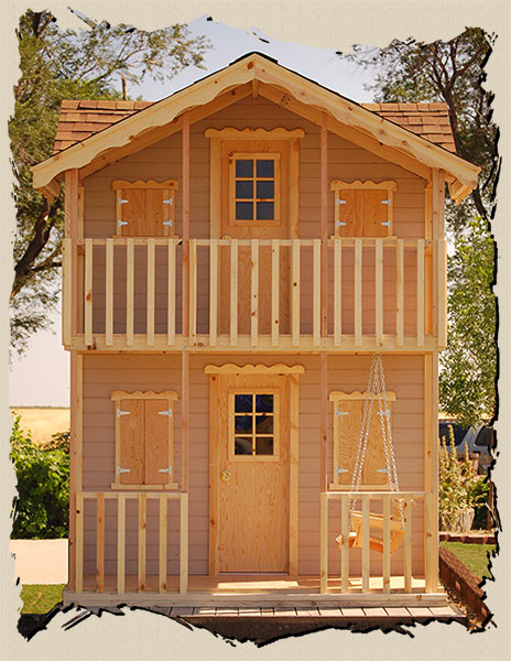 Playhouse plans kids Playhouse Plans | WoodManor Playhouses on barn style sheds with loft, yard sheds with loft, 16x20 cabin plan with loft, 14x16 cabin with a loft, one room cabin with loft, 12x12 cabin with sleeping loft,