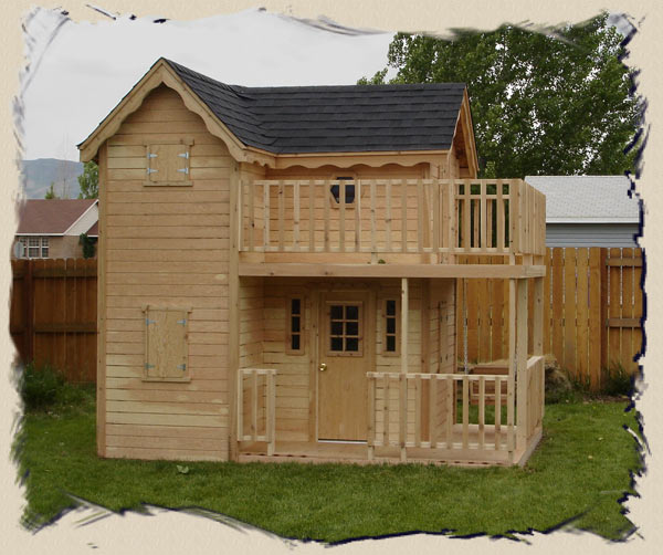 Amazing Playhouse Plans Kids Playhouse Plans Woodmanor Playhouses Interior Design Ideas Clesiryabchikinfo