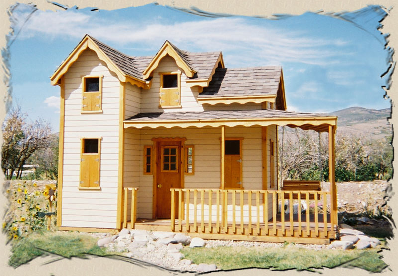 How To Build A Playhouse From A Kit Heritage Playhouse