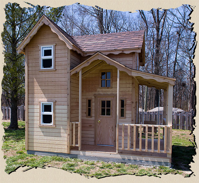 Do It Yourself Home Design: Cottage Playhouse Plans