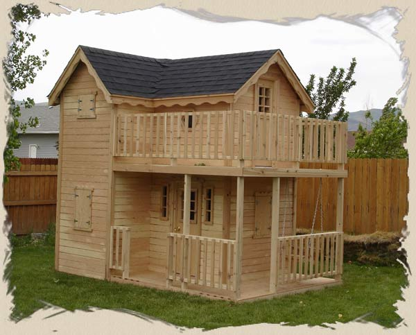 The Spoiler Childrens Playhouses Plans And Kits