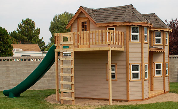 Castle Playhouse Kit For Kids Outdoor Play